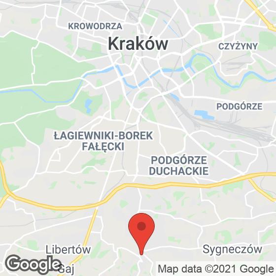 Mapa lokaliacji Nad Wilgą 10I
