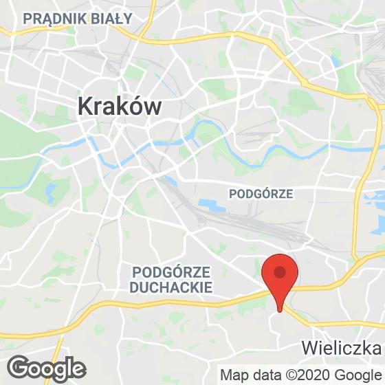 Mapa lokaliacji Ostoya Wieliczka