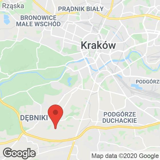 Mapa lokaliacji ul. Małysiaka (Kliny)