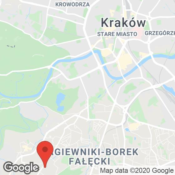 Mapa lokaliacji Zielona Kobierzyńska