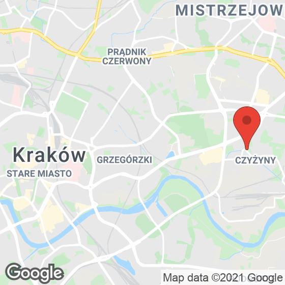Mapa lokaliacji Willa Sołtysowska