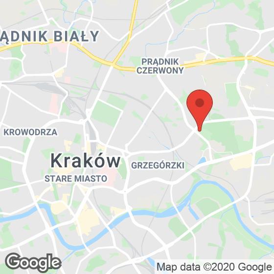 Mapa lokaliacji Apartamenty w Parku Lotników
