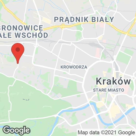 Mapa lokaliacji Na Błonie