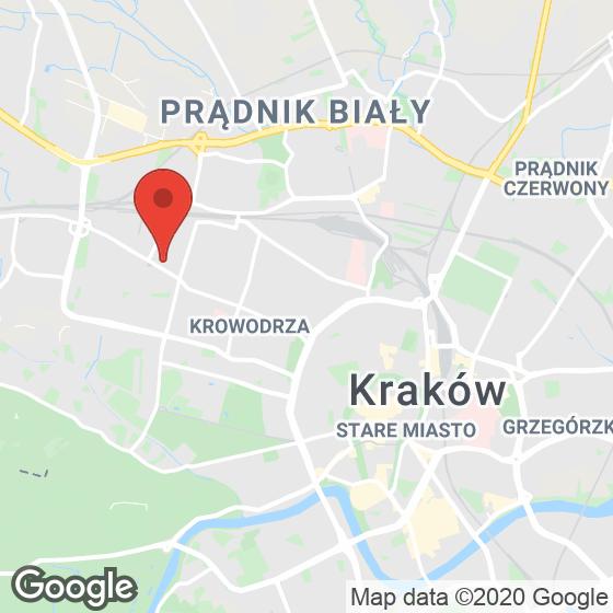 Mapa lokaliacji Głowackiego