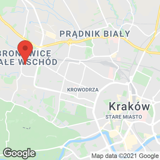Mapa lokaliacji Na Błonie 3