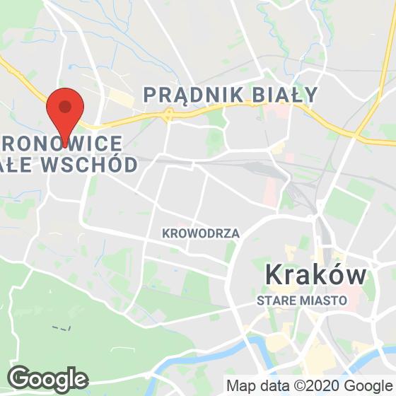 Mapa lokaliacji Mieszkaj w Mieście Aktorów