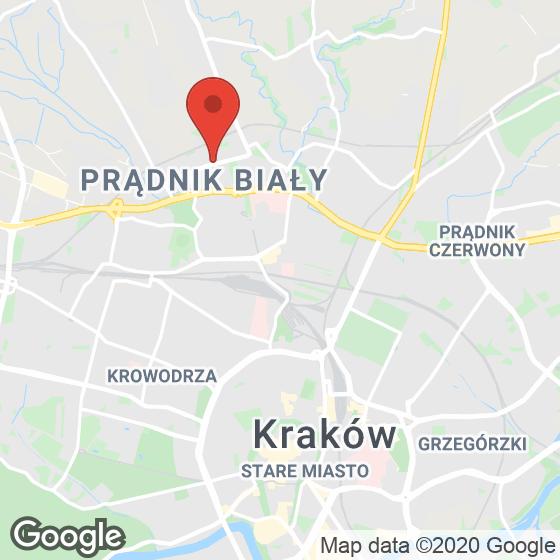 Mapa lokaliacji Murapol Parki Krakowa