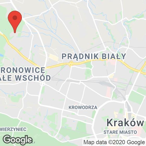 Mapa lokaliacji Park Leśny Bronowice