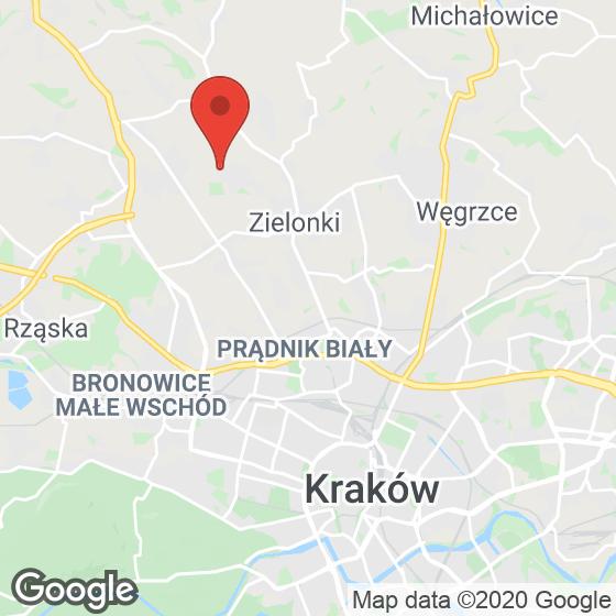 Mapa lokaliacji Ojcowska Park