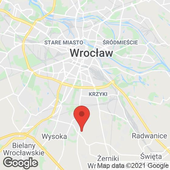 Mapa lokaliacji Ogrody Szymborskiej