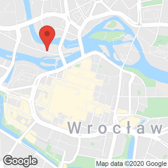 Mapa lokaliacji Bulwary Książęce