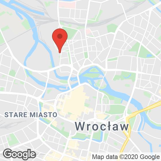 Mapa lokaliacji Dom na Kurkowej