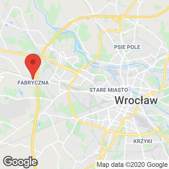 Mapa lokaliacji Żernicka 196
