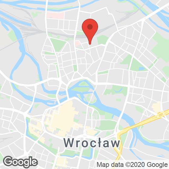 Mapa lokaliacji Zajezdnia Wrocław