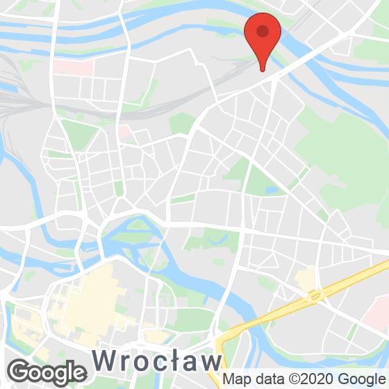 Mapa lokaliacji Browary Wrocławskie