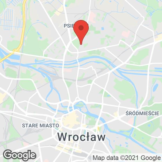Mapa lokaliacji Miasto Ogród Karłowice