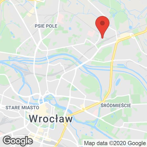 Mapa lokaliacji Sołtysowicka 21C – lokale inwestycyjne