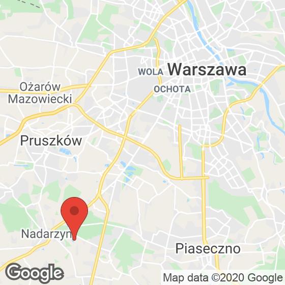 Mapa lokaliacji Walendów Park