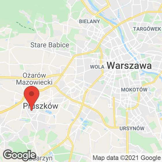 Mapa lokaliacji Aura Vita