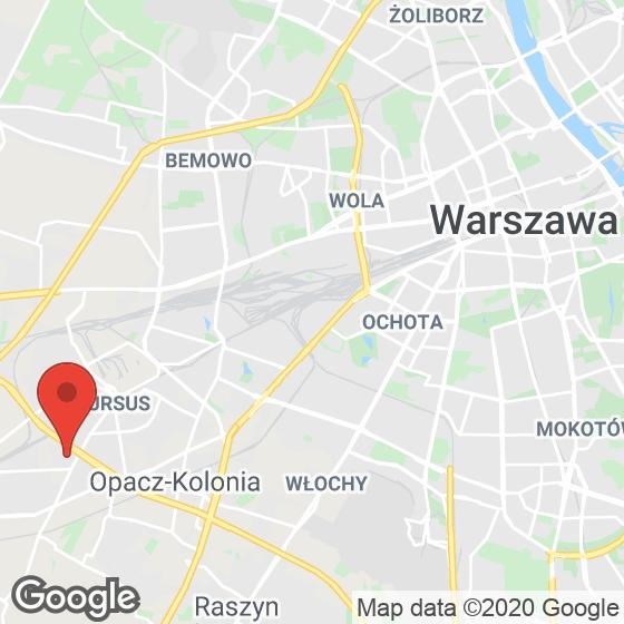 Mapa lokaliacji Ursus Nova