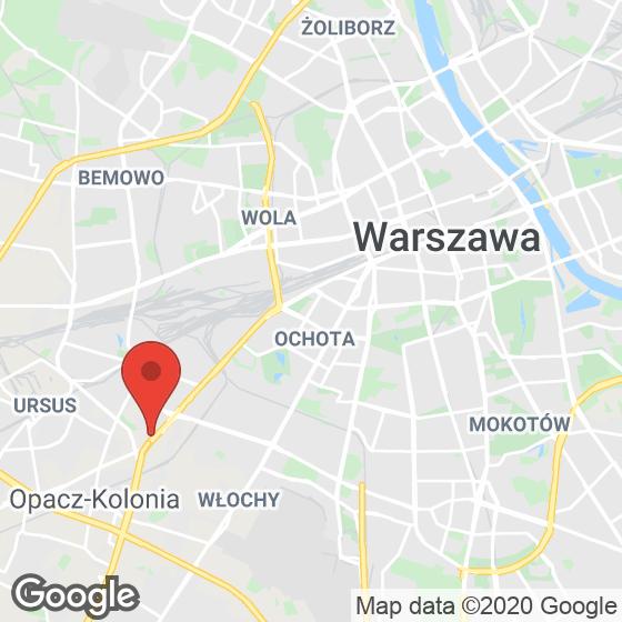 Mapa lokaliacji Osiedle Warszawa Aleje Jerozolimskie
