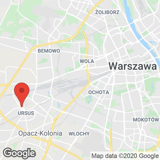 Mapa lokaliacji Ursus Centralny
