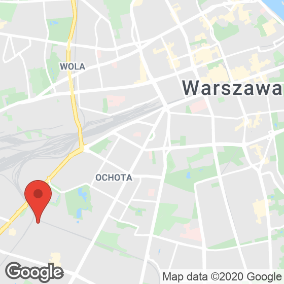 Mapa lokaliacji Moja Ochota