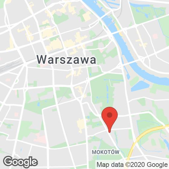 Mapa lokaliacji Apartamenty Dolny Mokotów