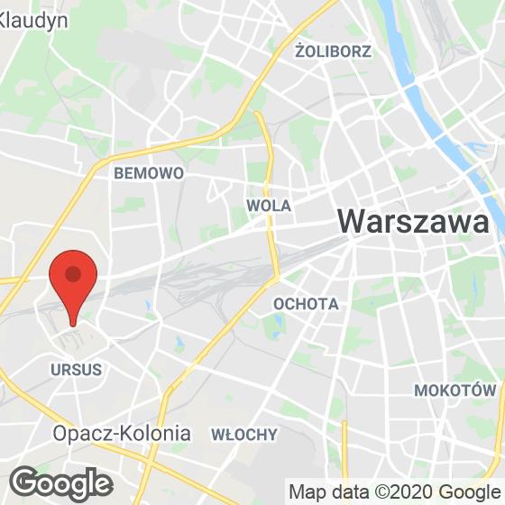 Mapa lokaliacji Mój Ursus