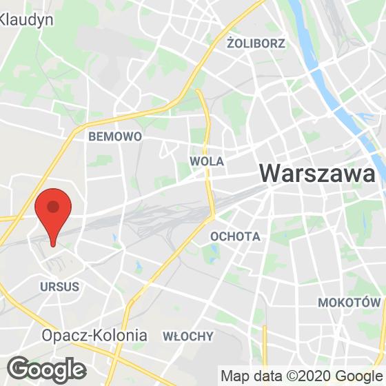 Mapa lokaliacji Next Ursus