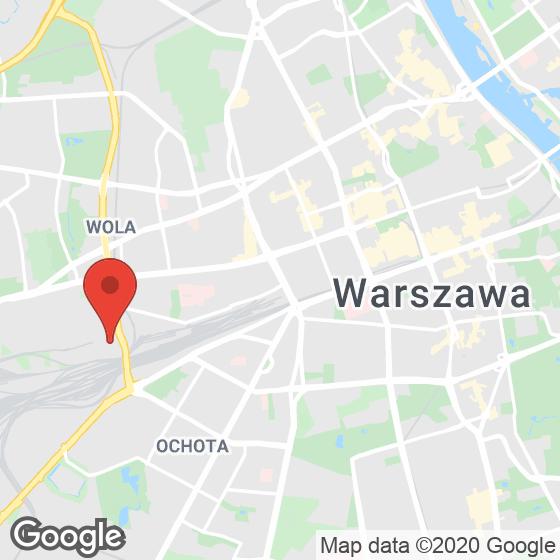 Mapa lokaliacji Stacja Wola etap II