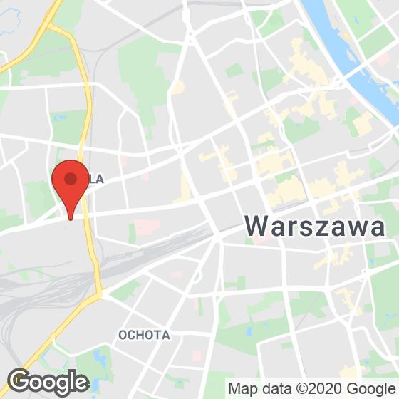 Mapa lokaliacji Bliska Wola – apartamenty inwestycyjne
