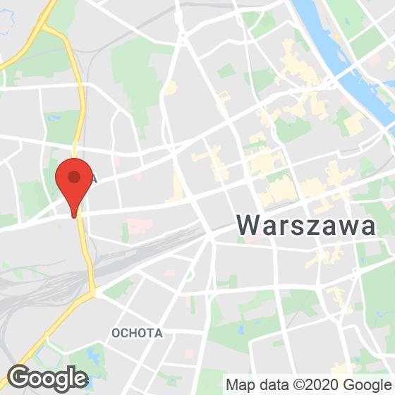 Mapa lokaliacji Bliska Wola Tower