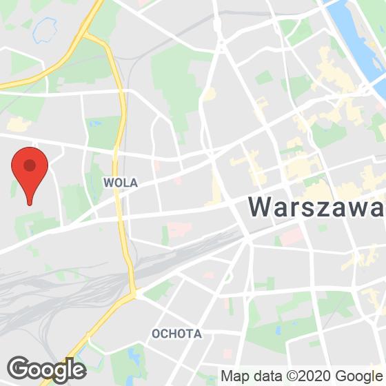 Mapa lokaliacji Na Woli