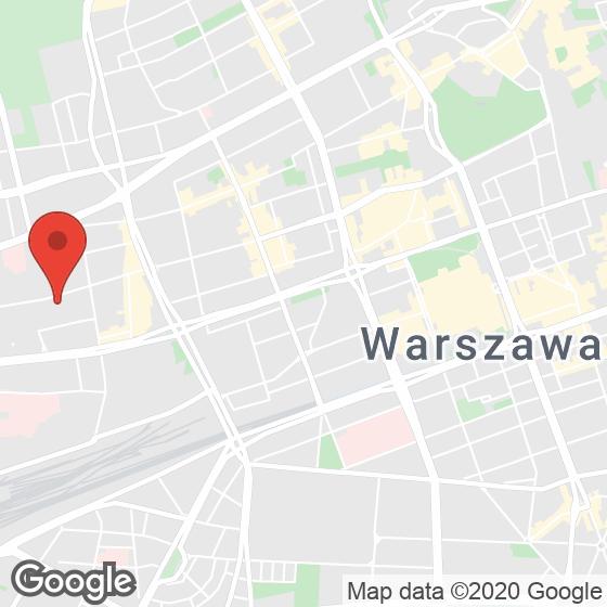 Mapa lokaliacji W Apartments