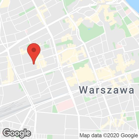 Mapa lokaliacji Royal Tulip Warsaw Apartments
