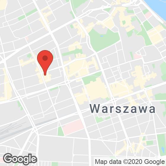 Mapa lokaliacji Mennica Residence