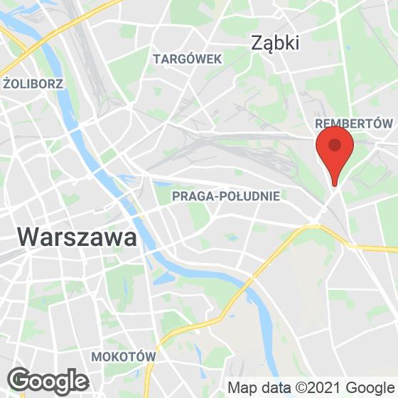 Mapa lokaliacji Osiedle Młoda Wawa