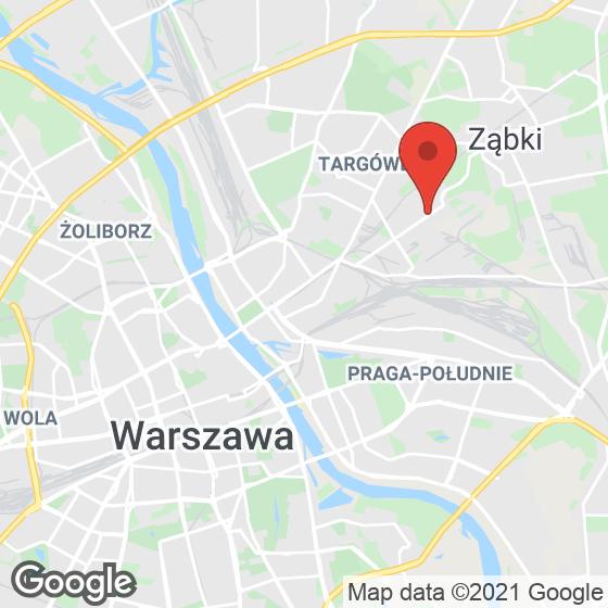 Mapa lokaliacji Osiedle Krzewna