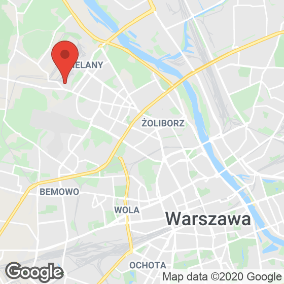 Mapa lokaliacji Rokokowa Residence