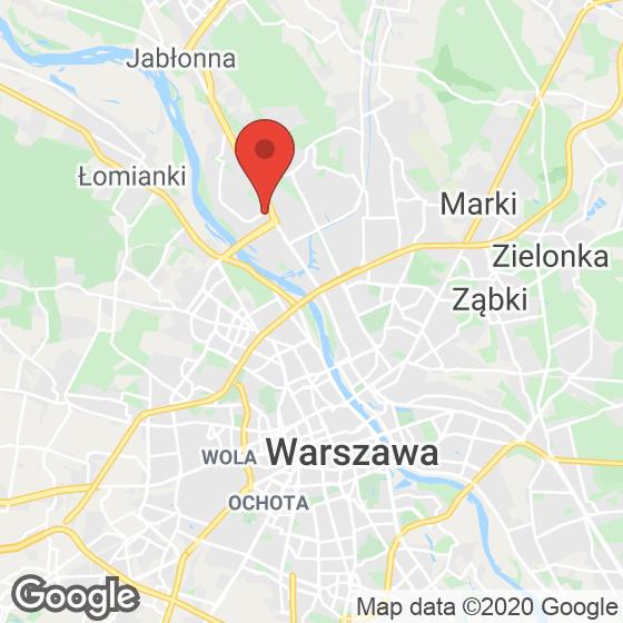 Mapa lokaliacji Apartamenty Nowy Tarchomin