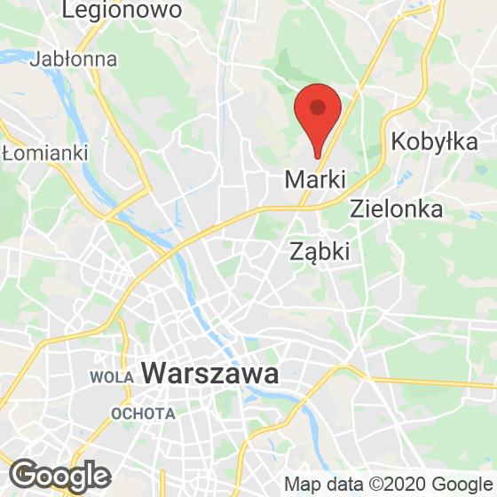 Mapa lokaliacji Słoneczna Marki