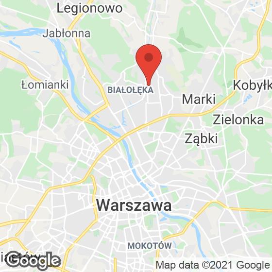 Mapa lokaliacji Białołęcka 344