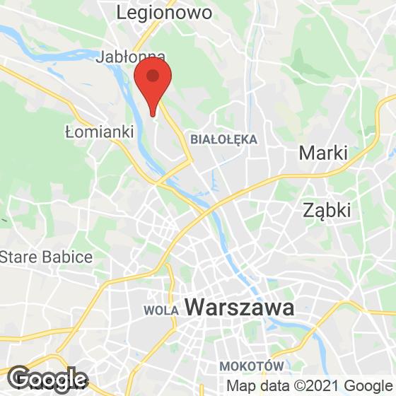 Mapa lokaliacji Nadwiślańska Kaskada
