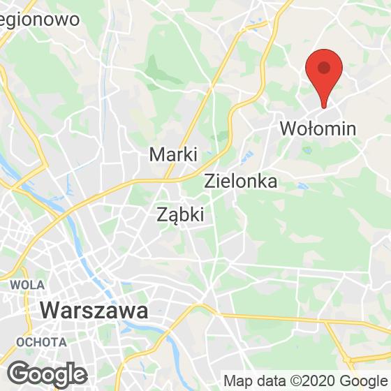 Mapa lokaliacji Toruńska Wołomin