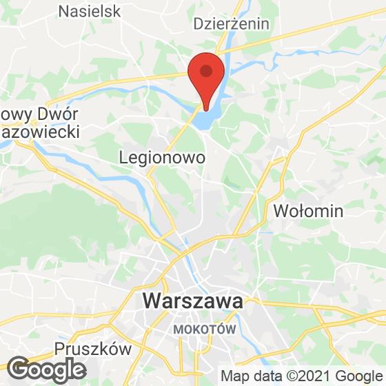 Mapa lokaliacji Rezydencja Zegrze