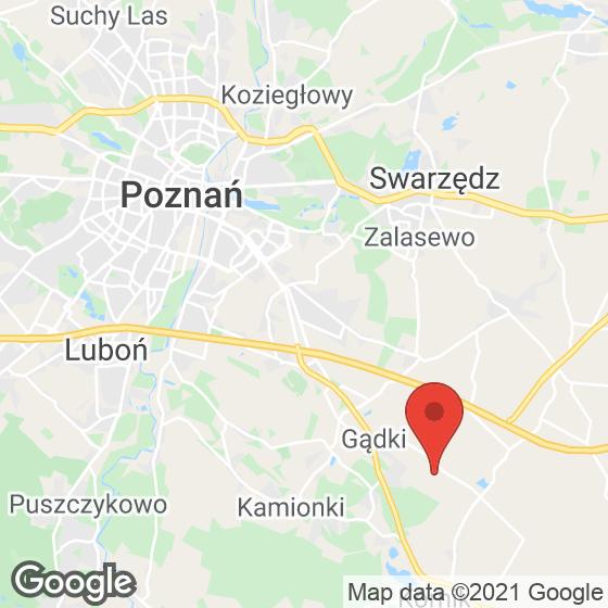 Mapa lokaliacji Domy Szeregowe Dachowa