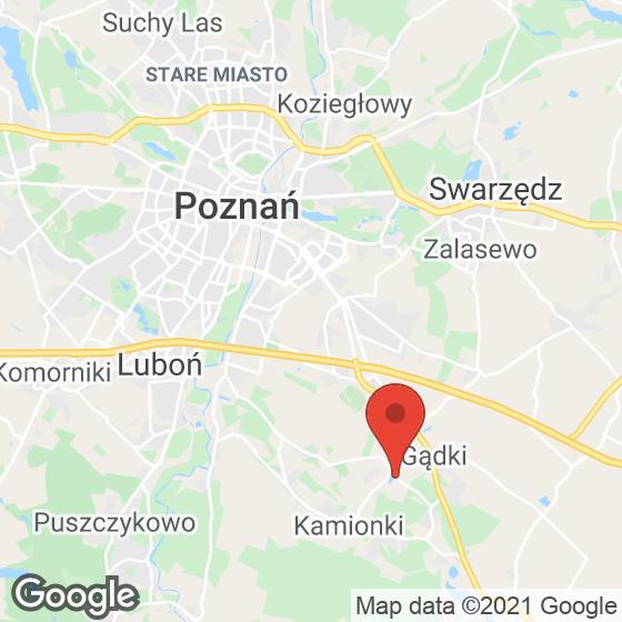 Mapa lokaliacji Koninko, zabudowa szeregowa