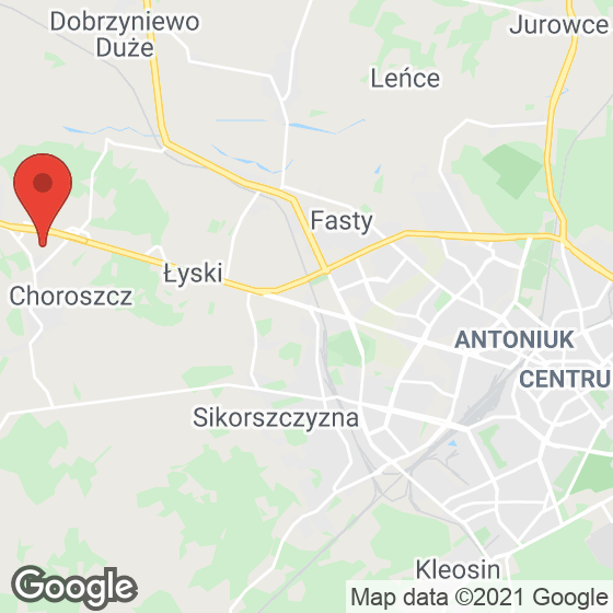 Mapa lokaliacji Jabłoniowa Aleja