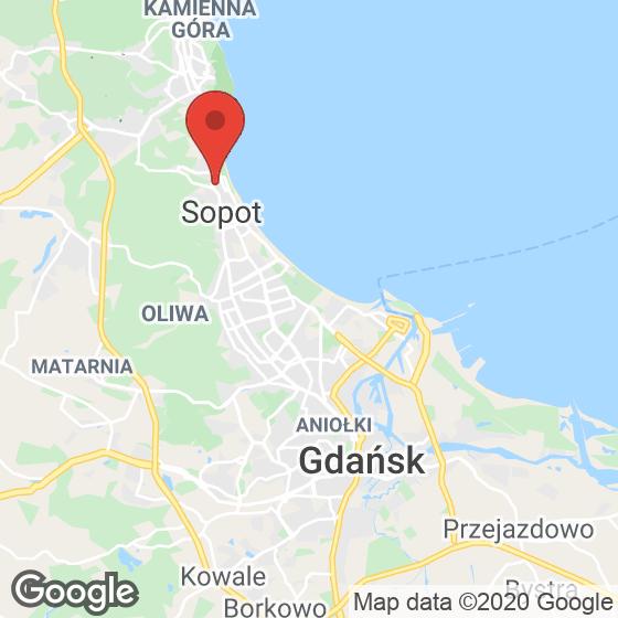 Mapa lokaliacji Apartamenty Dolny Sopot